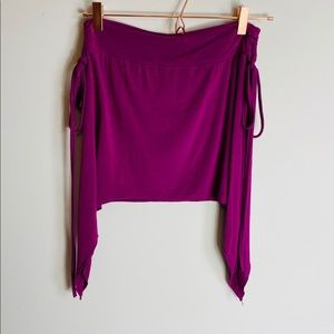 Festival Skirt One Size Asymmetrical Side Ties
